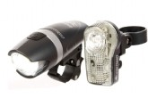 Planet Bike Blaze One Watt/Superflash Stealth Set