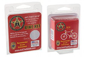 Anti-Theft Dots Bike Kit