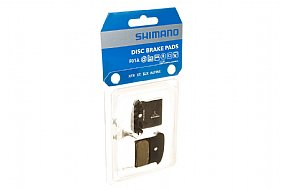 Shimano F01A Resin Disc Pads With Cooling Fins