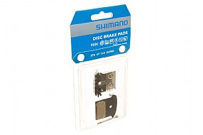 Shimano F03C Metal Disc Pads With Cooling Fins