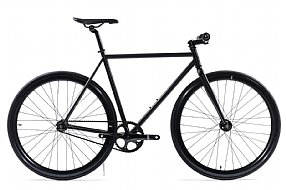 State Bicycle Co. Matte Black 5 Track Bike