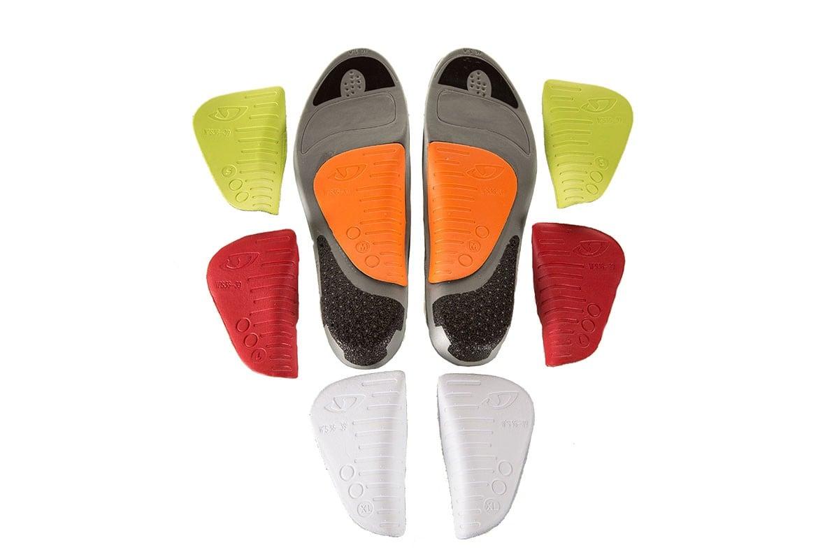 Giro X-Static Supernatural Cycle Bike Shoes Footbed Fit Kit