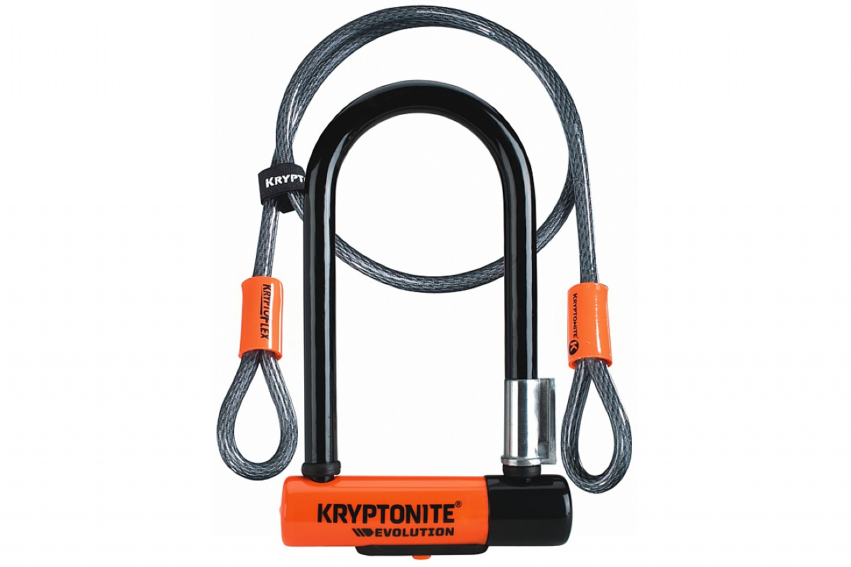 KRYPTONITE EVOLUTION MINI-5 Bike Pocket U lock NEW