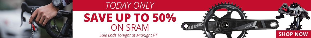 Today Only - Save Up to 50% on SRAM