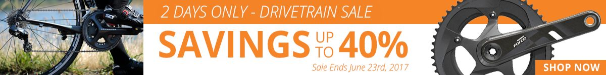 2 Days Only - Drivetrain Sale - Savings Up to 40%