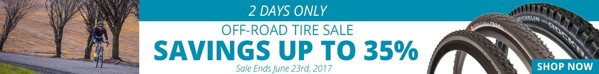 2 Days Only - Off-Road Tire Sale - Savings Up to 35%