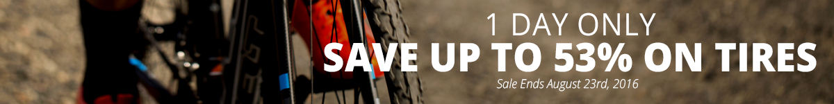 1 Day Only - Save Up to 53% on Select Tires