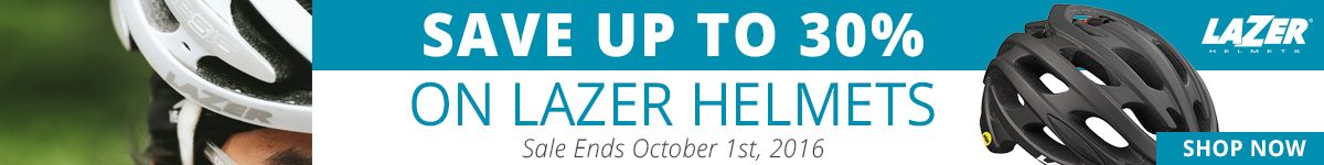 Save Up to 30% on Lazer Helmets